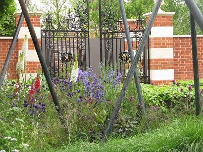 The Living Legacy Garden by Andrew Wilson and Gavin McWilliam, RHS Chelsea Flower Show 2015
