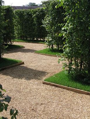 Inside RHS Anniversary Maze, Hampton Court Flower Show, 2015