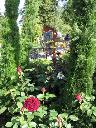 The Tea Party, RHS Hampton Court 2015, designed by Charlie Bloom