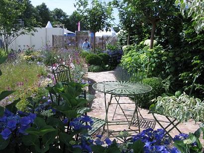 Squire's Garden Centres Urban Oasis, Hampton Court Flower Show 2015