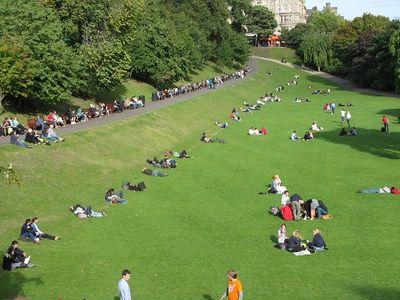 Princes Street Gardens, Edinburgh, 2010
