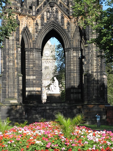 Walter Scott Memorial, Princes Street, Edinburgh