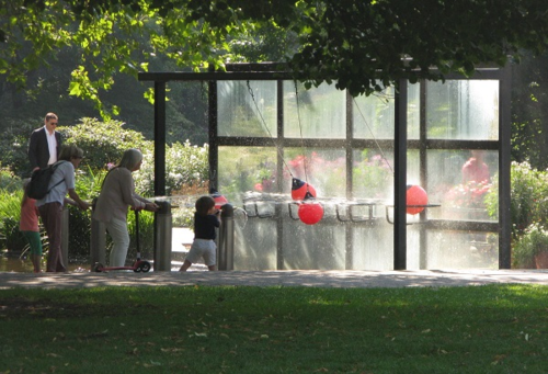 Games area, Botanical Gardens, Hamburg, Germany