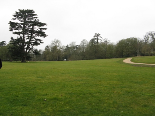 New path for CB300 at Compton Verney
