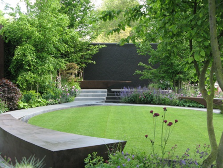 Jo Thompson's Chelsea Barracks Garden, RHS Chelsea 2016