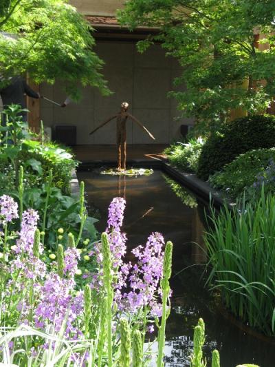 Sculpture 3, Morgan Stanley garden, Chris Beardshaw, Chelsea 2016