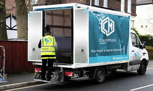 CremMate - easy delivery to your door